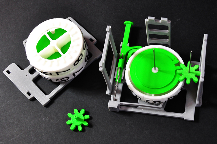 Mechanical Counter 3D Print 134585