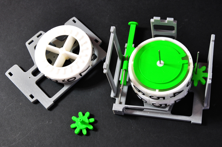 Mechanical Counter 3D Print 134586