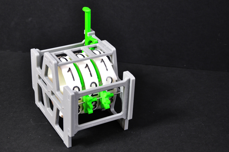 Mechanical Counter 3D Print 134590