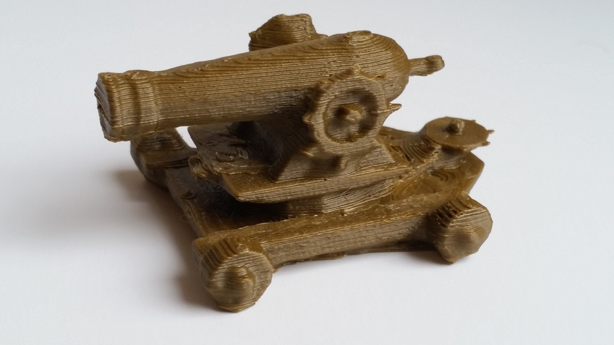 Guild Wars 2 Cannon 3D Print 134591