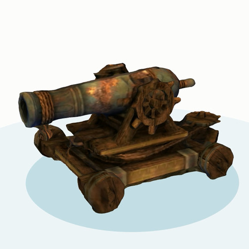 Guild Wars 2 Cannon 3D Print 134593