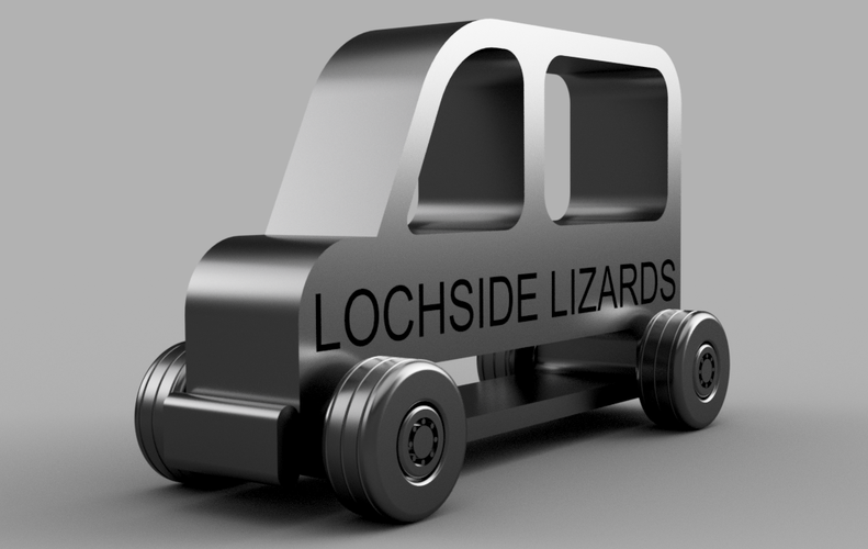 Lochside Lizards School Bus 3D Print 134666
