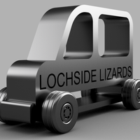 Small Lochside Lizards School Bus 3D Printing 134666