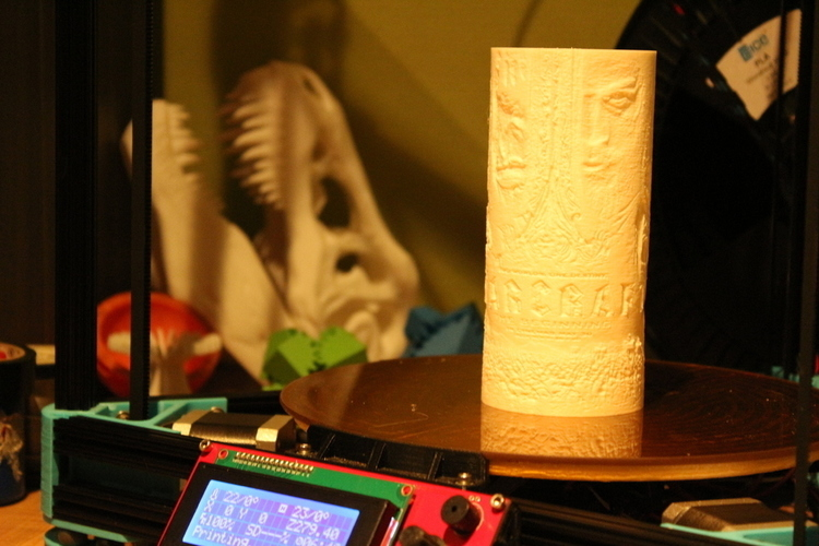 Warcraft Lamp 3D Print 134708