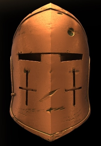 For Honor Warden Helm - Knight 3D Print 134828