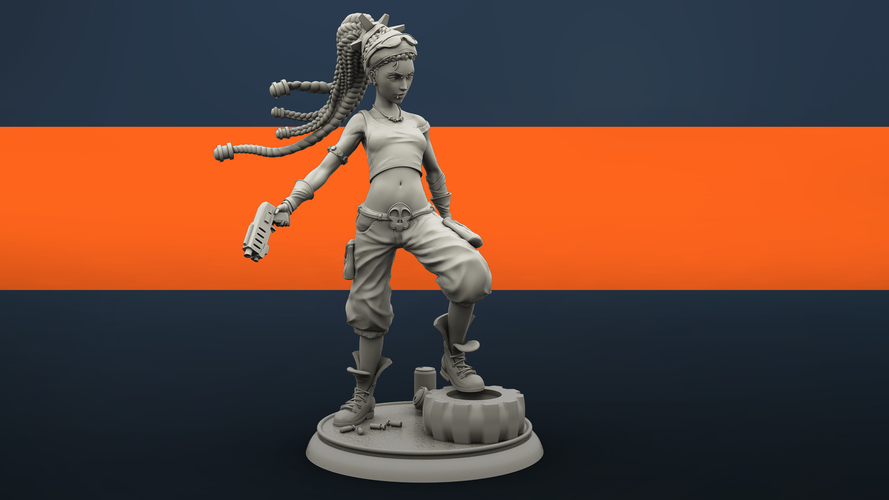 Molly the Punk 3D Print 134846