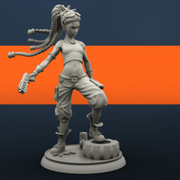 Small Molly the Punk 3D Printing 134846