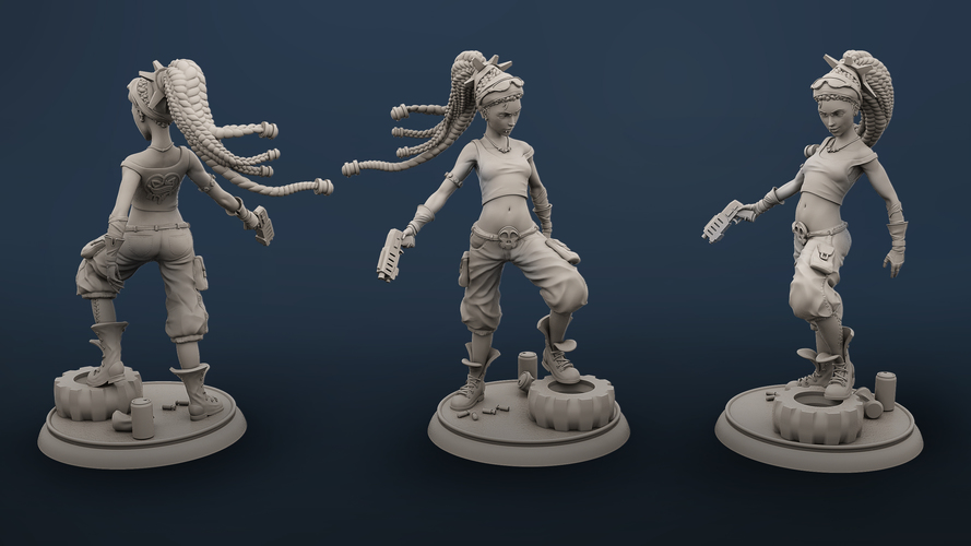 Molly the Punk 3D Print 134847