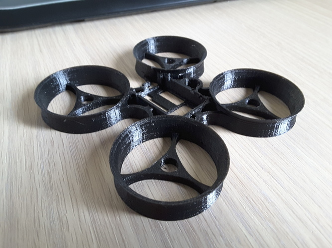 Indestructible Tiny Whoop TPU 90mm 2S 3D Print 134913