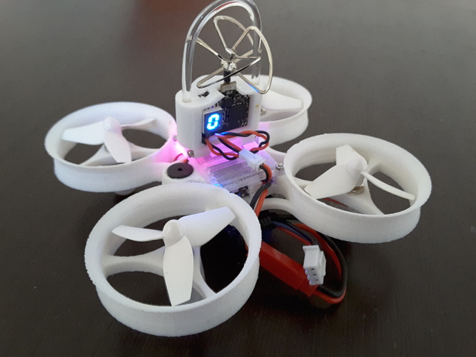 Indestructible Tiny Whoop TPU 90mm 2S 3D Print 134914