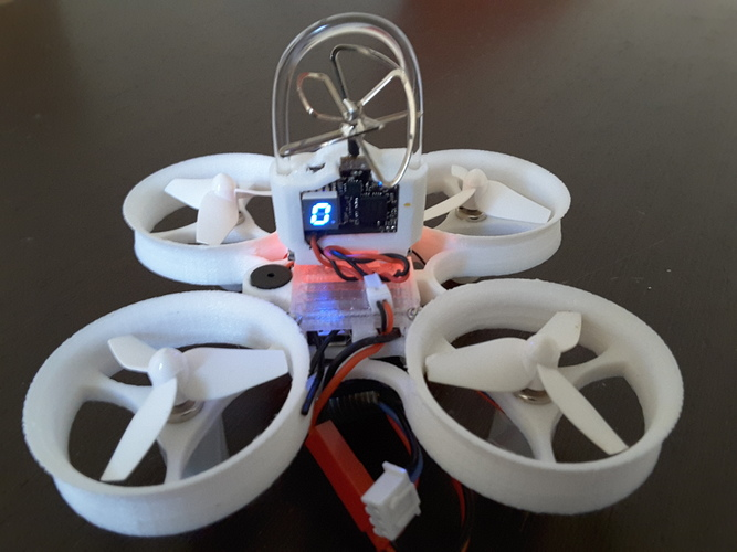 Indestructible Tiny Whoop TPU 90mm 2S 3D Print 134915