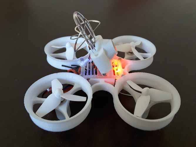 Indestructible Tiny Whoop TPU 90mm 2S 3D Print 134916