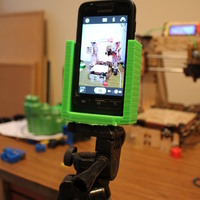 Small cell phone on tripod 3D Printing 135006