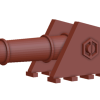 Small cannon 3D Printing 135029