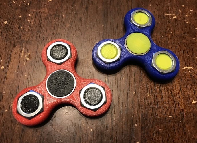 Nutty Spinner 3D Print 135031