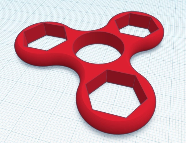 Nutty Spinner 3D Print 135032