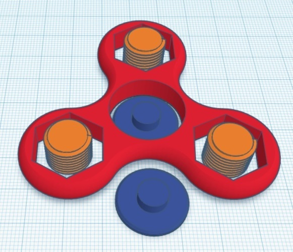 Nutty Spinner 3D Print 135033