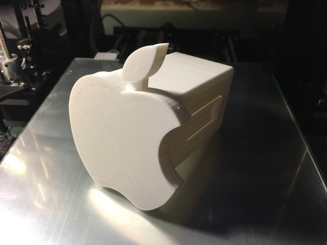 Apple Hitch Cover 3D Print 135044