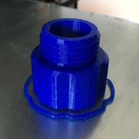 Small Hose Adapter 3D Printing 135047