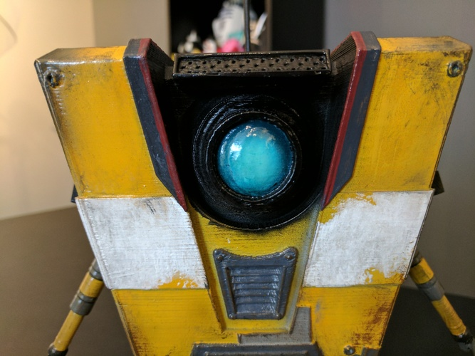 Claptrap from Borderlands 3D Print 135058
