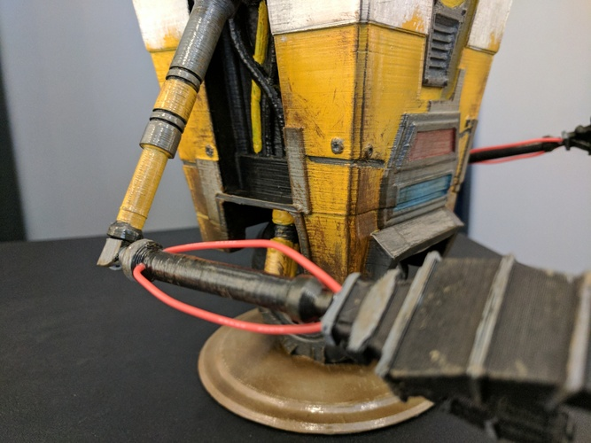 Claptrap from Borderlands 3D Print 135060