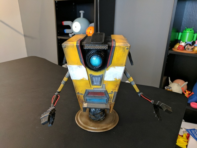 Claptrap from Borderlands 3D Print 135061