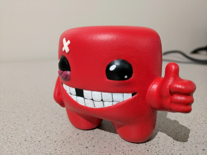 Super Meat Boy! 3D Print 135062
