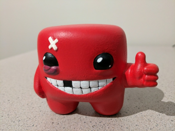 Super Meat Boy! 3D Print 135063