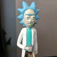 Small Rick Sanchez [Rick and Morty] 3D Printing 135067