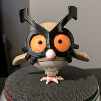 Small Hoothoot [Pokemon] 3D Printing 135070