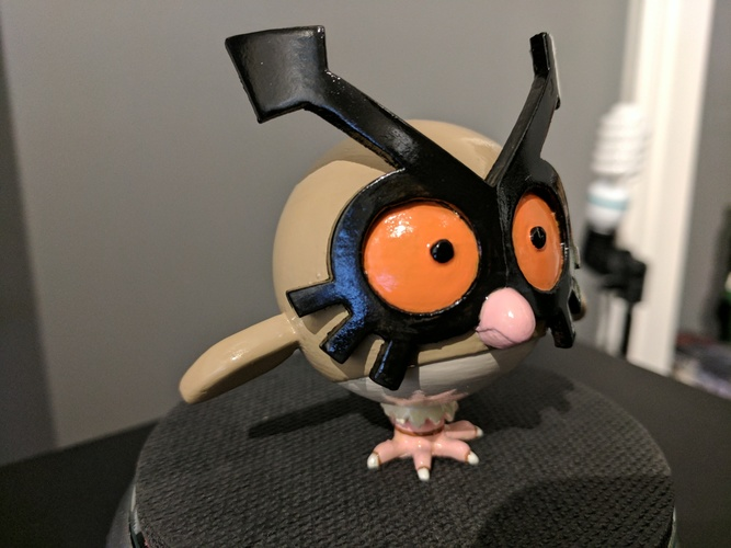 Hoothoot [Pokemon] 3D Print 135071