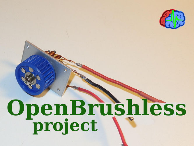OpenBrushless Project 3D Print 135096
