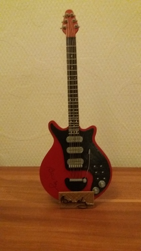 Brian May's red special in scale 1:4 3D Print 135101