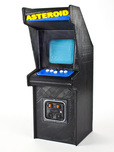 Asteroids Cabinet  3D Printing 135103