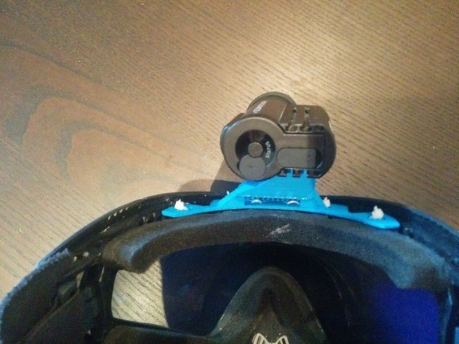 Contour Mount for Dye i4 Paintball Mask 3D Print 135116