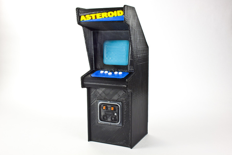 Asteroids Cabinet  3D Printing 135118