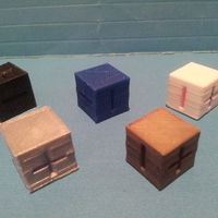 Small Basic Fate / Fudge Dice 3D Printing 135158
