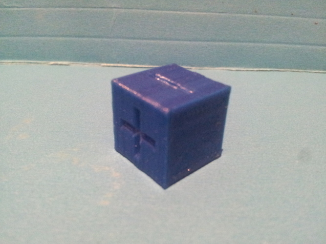 Basic Fate / Fudge Dice 3D Print 135159