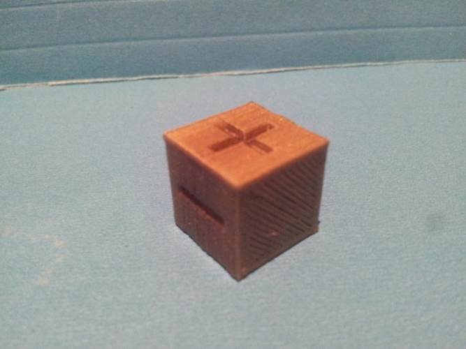 Basic Fate / Fudge Dice 3D Print 135160