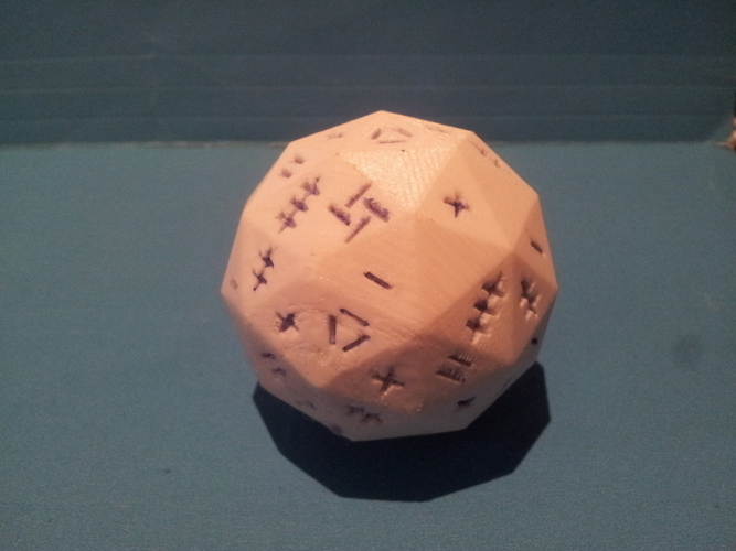 One Roll Fate / Fudge Die 3D Print 135168