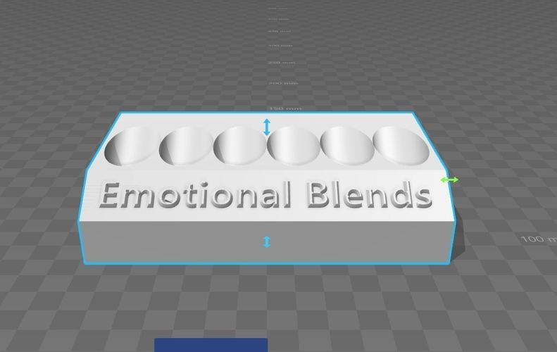 Essential Oil Emotional Blend Display 3D Print 135220