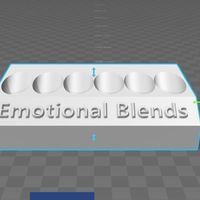 Small Essential Oil Emotional Blend Display 3D Printing 135220