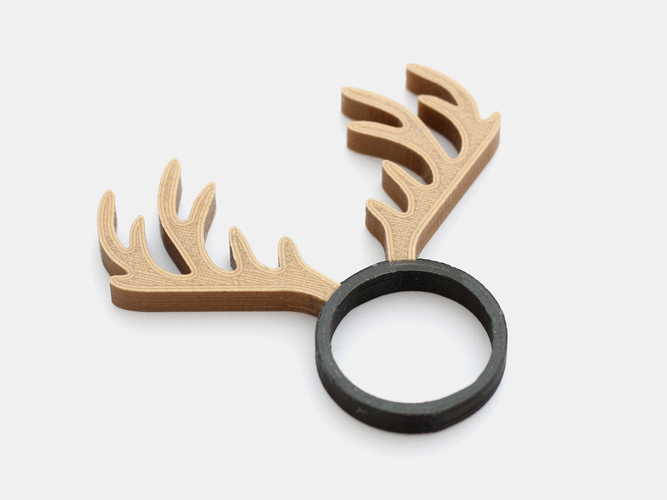 Animal Ring Collection - Dual extrusion version 3D Print 135235
