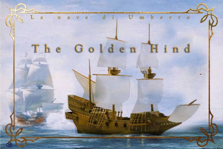 The Golden Hind 3D Print 135264