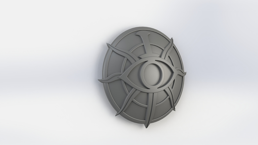 Dragon Age Inquisition Insignia; Detailed 3D Print 135358