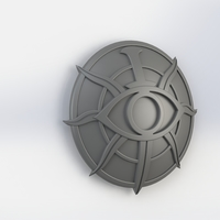Small Dragon Age Inquisition Insignia; Detailed 3D Printing 135358