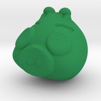 Small green piggy  3 3D Printing 13547