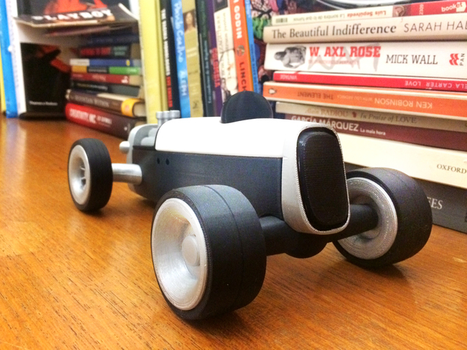 Modular HOT ROD designer toy 3D Print 135519