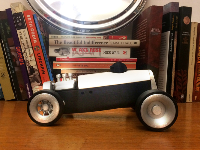 Modular HOT ROD designer toy 3D Print 135520