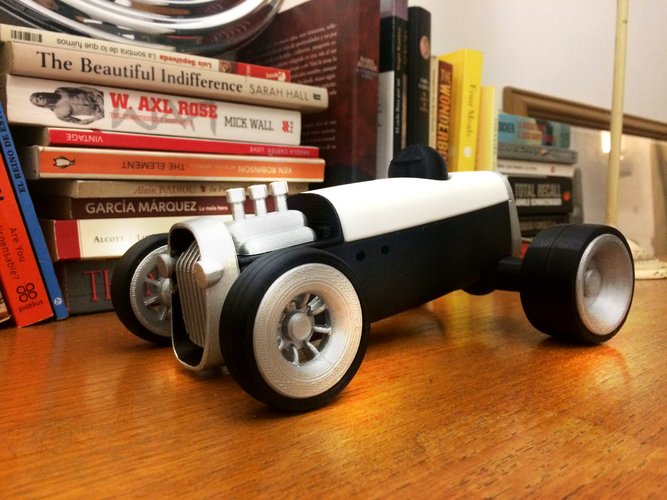 Modular HOT ROD designer toy 3D Print 135521